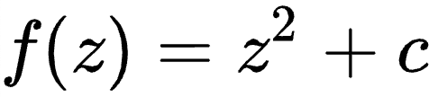 The equation that defines the Julia Set