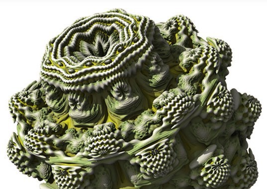 The Mandelbulb 3D fractal